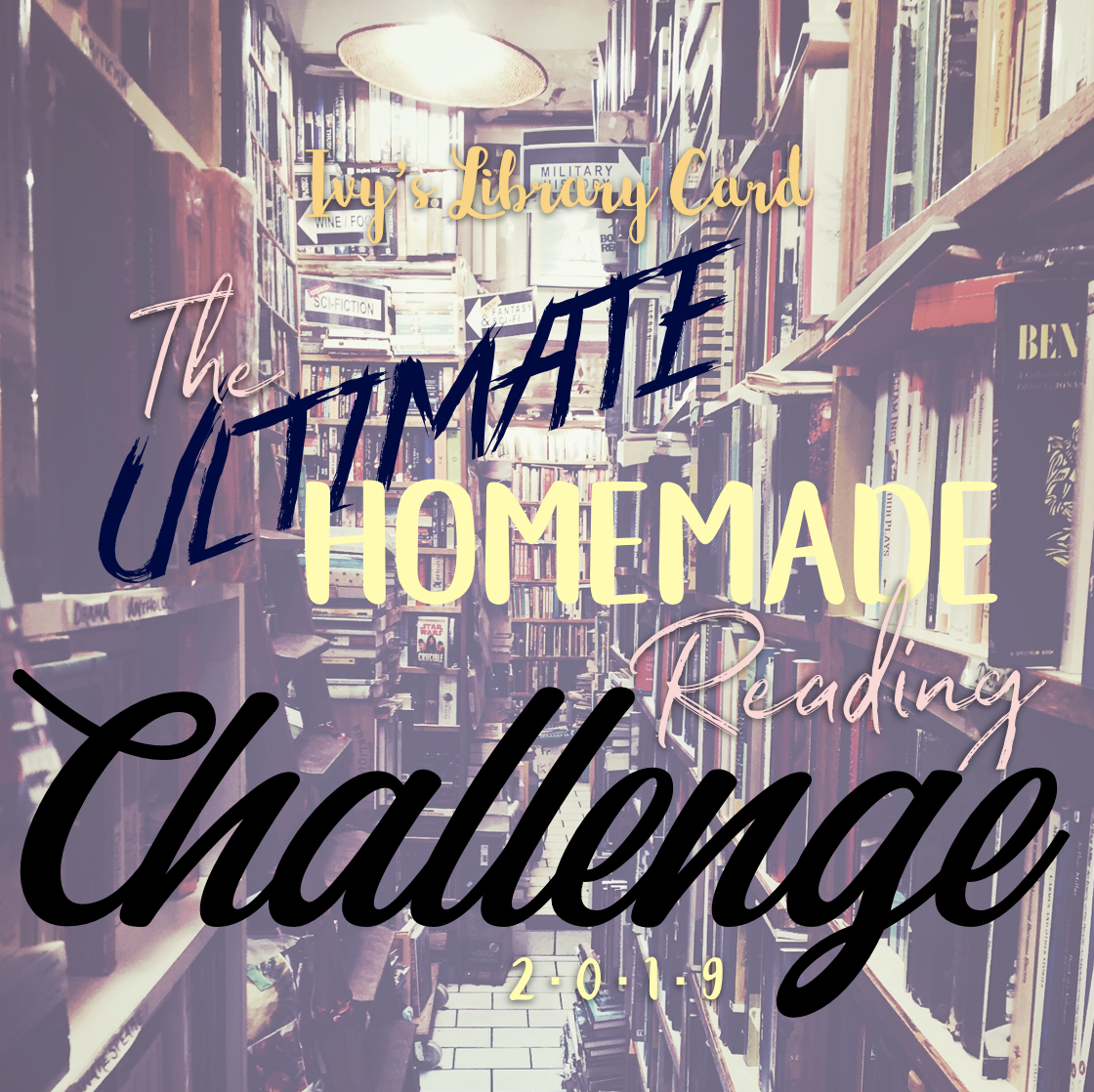 Ivys Library Card 2019 ultimate homemade reading challenge